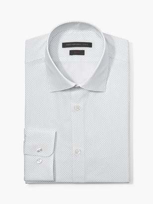 John Varvatos Slim Fit Micro Dot Print Shirt