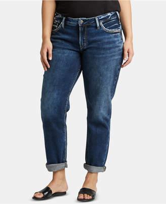 2047354ea08 Silver Jeans Co. Plus Size Boyfriend Jeans
