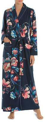 Jonquil Floral French Terry Long Robe