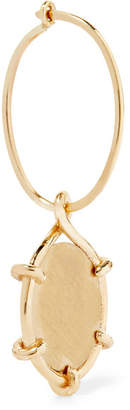 Sebastian SARAH & Coin 9-karat Gold Hoop Earring