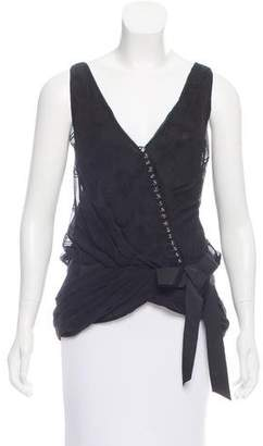 Marc by Marc Jacobs Sleeveless Asymmetrical Top