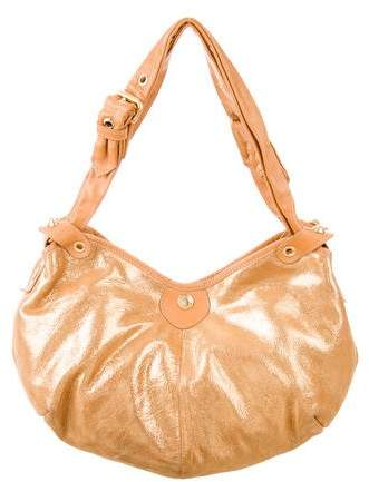 Jimmy Choo Iridescent Leather Shoulder Bag