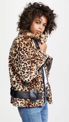 Blank Leopard Print Jacket