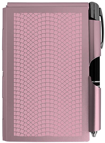 Rose Aluminum Notepad