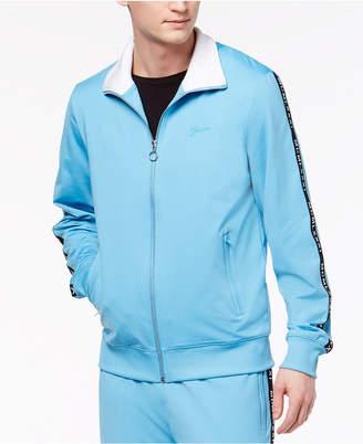 GUESS Men's Zip-Front Jacket