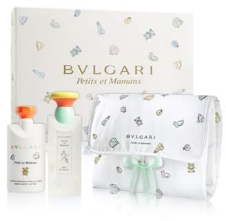 Bvlgari Petits et Mamans Eau de Toilette & Baby Changing Blanket Set