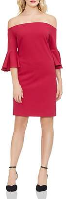 Vince Camuto Off-the-Shoulder Bell-Sleeve Dress