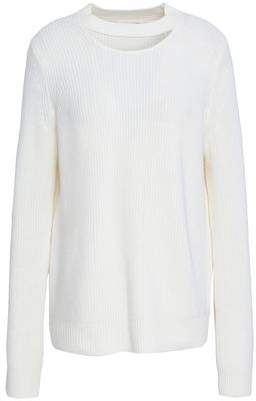 Rag & Bone Tori Cutout Merino Wool Sweater