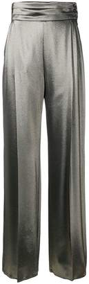 Max Mara high-waist flared trousers
