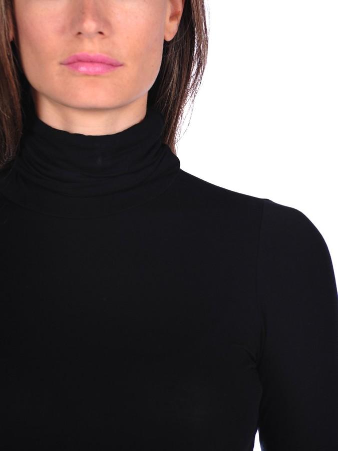 Majestic Long Sleeve Basic Turtleneck