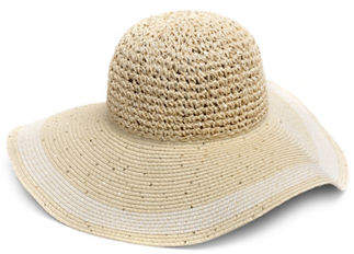 Collection 18 Mixed Straw Floppy Hat