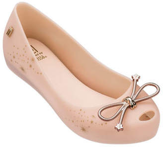 Mini Melissa Ultragirl Elements Ballet Flat, Kids