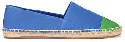 Tory Burch Color-Block Suede Espadrilles
