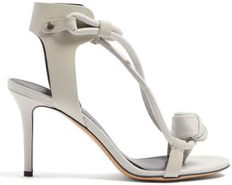 Isabel Marant Ablee leather heel sandals
