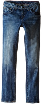 True Religion Kids Fashion Geno Single End Jeans in Blue Book (Big Kids) $79 thestylecure.com