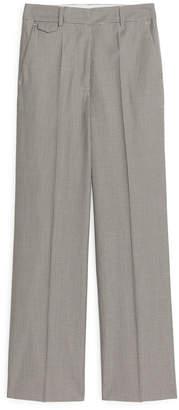 Arket Wool Cotton Trousers