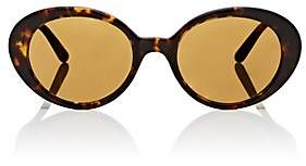 Oliver Peoples The Row Women's Parquet Sunglasses-Deep Amber