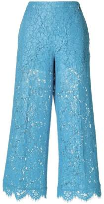 Twin-Set flared cropped trousers