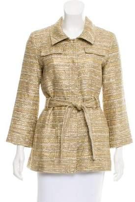 Oscar de la Renta Metallic Tweed Jacket w/ Tags