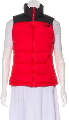 The North Face Colorblock Quilted Puffer Vest