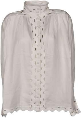 Zimmermann Stand-up Collar Blouse