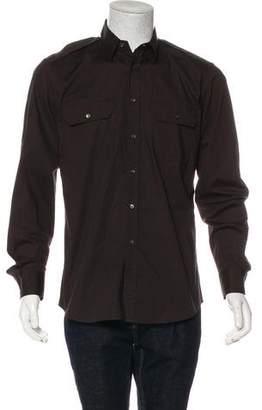 Ralph Lauren Black Label Military Woven Shirt