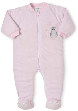 Snugtime NEW Padded Cotton Sleepsuita Pink