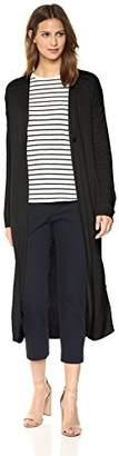 Theory Women's Long Sleeve Maxi Cardigan