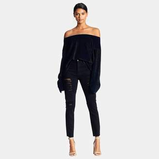 KENDALL + KYLIE Kendall & Kylie Off-the-Shoulder Pullover