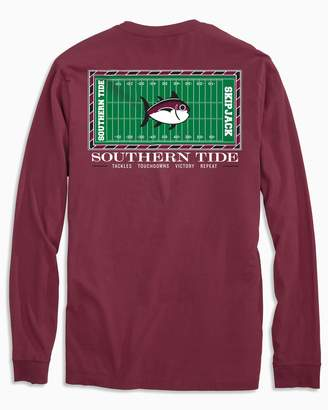 Southern Tide Gameday Football Stadium Long Sleeve T-shirt - Texas A&M University