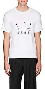 Visvim Men's Fuel Gauge Cotton-Blend T-Shirt - White