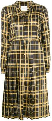 DAY Birger et Mikkelsen Neul checked pleated dress