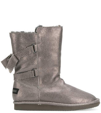 Juicy Couture double strap boots