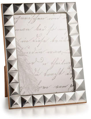 "Monica Rich Kosann Sterling Silver Pyramid 5"" x 7"" Picture Frame"