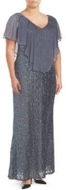 Marina Lace Long Dress