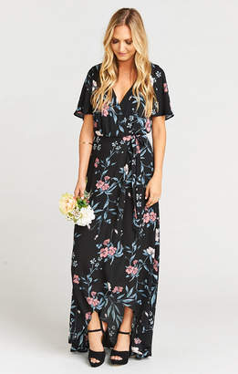 Show Me Your Mumu Sophia Wrap Dress ~ GWSXMumu Wedding Soiree