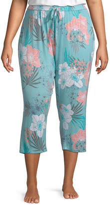 Ambrielle Womens-Plus Pajama Pants