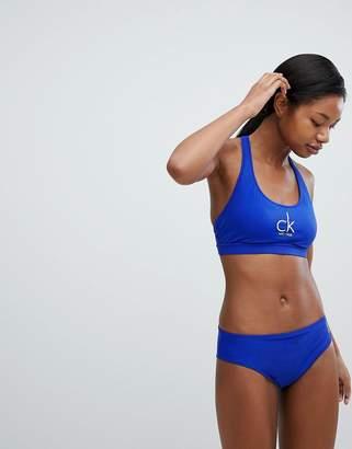 Calvin Klein Brazilian Logo Bikini Bottom