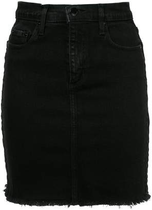 Nobody Denim Cult Skirt Comfort Velvet Edge