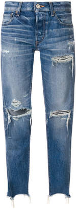 Moussy distressed jeans