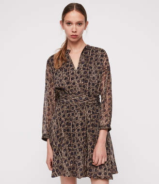 AllSaints Cosette Flux Dress