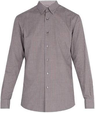 Ermenegildo Zegna Micro-gingham cotton shirt