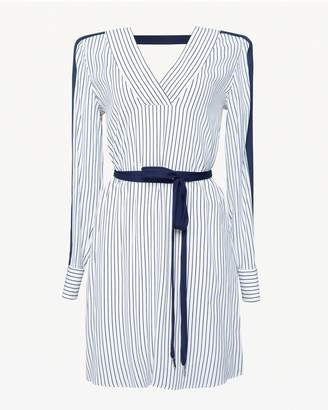 Juicy Couture Stripe Belted Dress