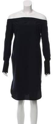Rag & Bone Off-The-Shoulder Knee-Length Dress