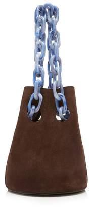 Trademark Goodall Brown Suede Bucket Bag