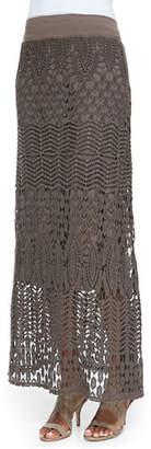 XCVI Cecilia Crochet Skirt, Plus Size
