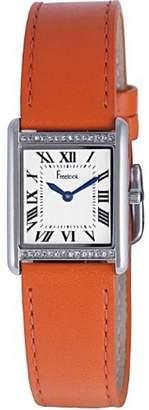 Freelook Women's HA1531/3A Orange leather Band Watch.