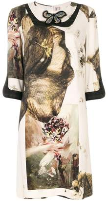 Antonio Marras butterfly printed dress