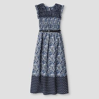 Art Class Girls' Smocked Maxi Dress Art Class - Navy $21.99 thestylecure.com