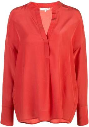 Vince tunic v-neck blouse